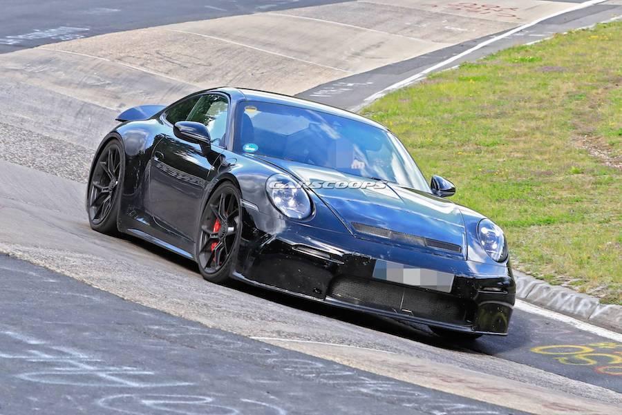Porsche 911 GT3 Touring紐伯林持續測試 更加適合日常使用