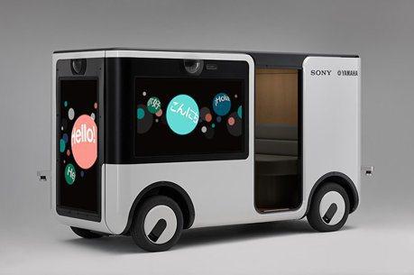 Sony與Yamaha異業結盟 聯手打造電動自駕廂車