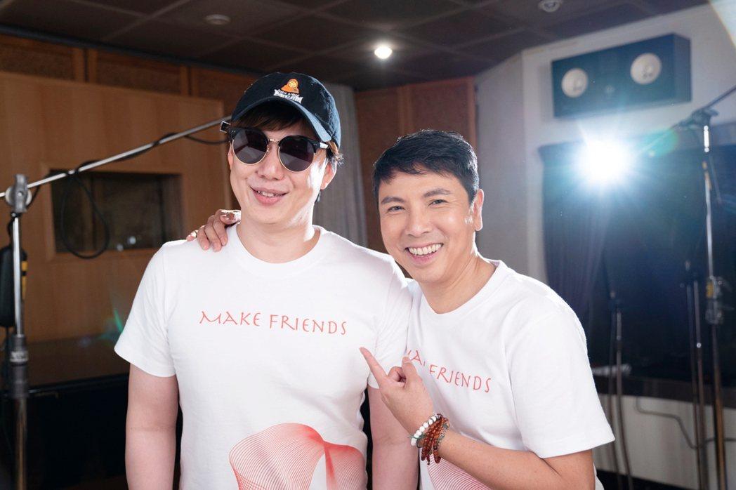 蕭煌奇(左)、郭蘅祈。圖/愛之日常音樂節提供
