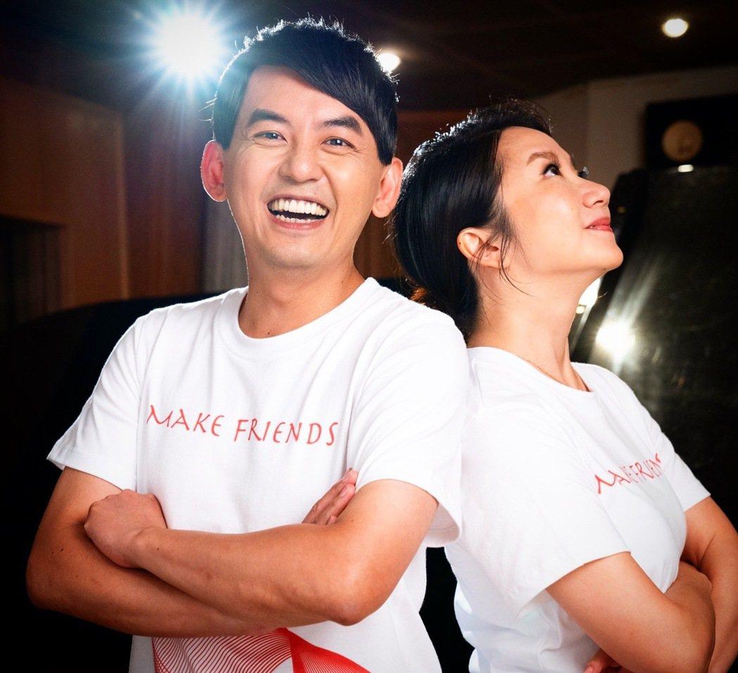 黃子佼(左)、陶晶瑩。圖/愛之日常音樂節提供