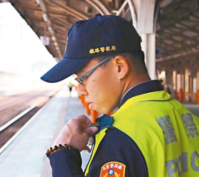 因公殉職的鐵路警察李承翰去年7月遭鄭姓嫌犯刺死案。圖/讀者提供