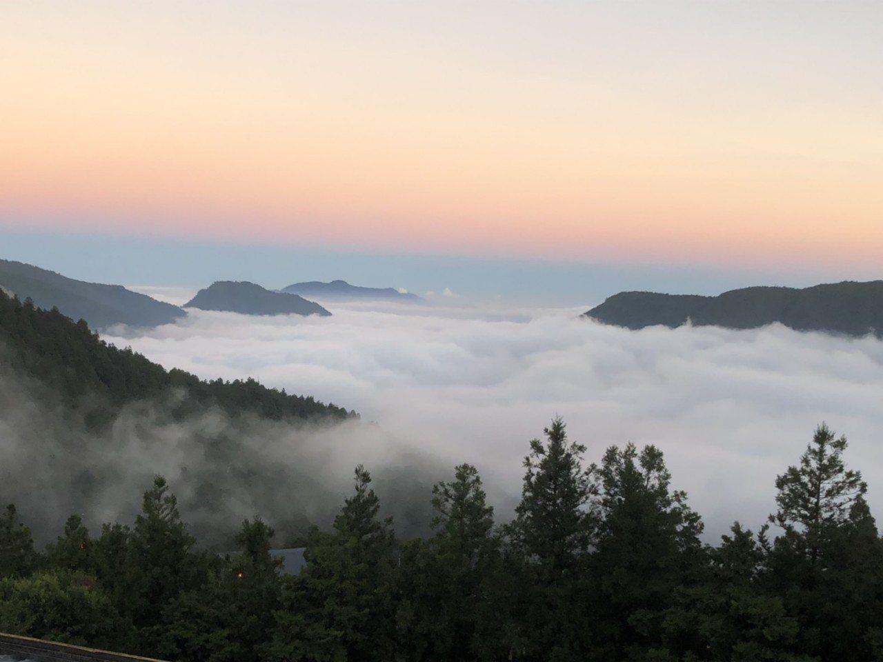 海拔2千超級雲海 太平山莊:不該在此刻出現的美景