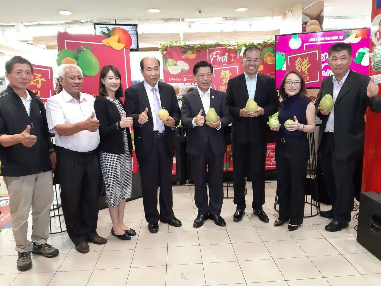 搶訂單!台南鮮果新加坡展售會 明起百家超市上架