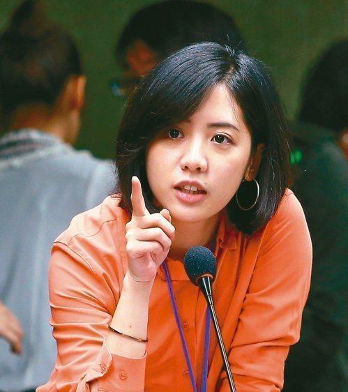 柯文哲幕僚、「學姊」黃瀞瑩。圖/報系資料照