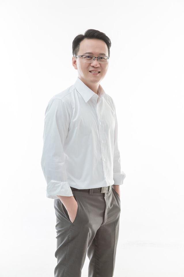 38歲的交通大學助理教授莊競程。圖/取自羅文嘉臉書