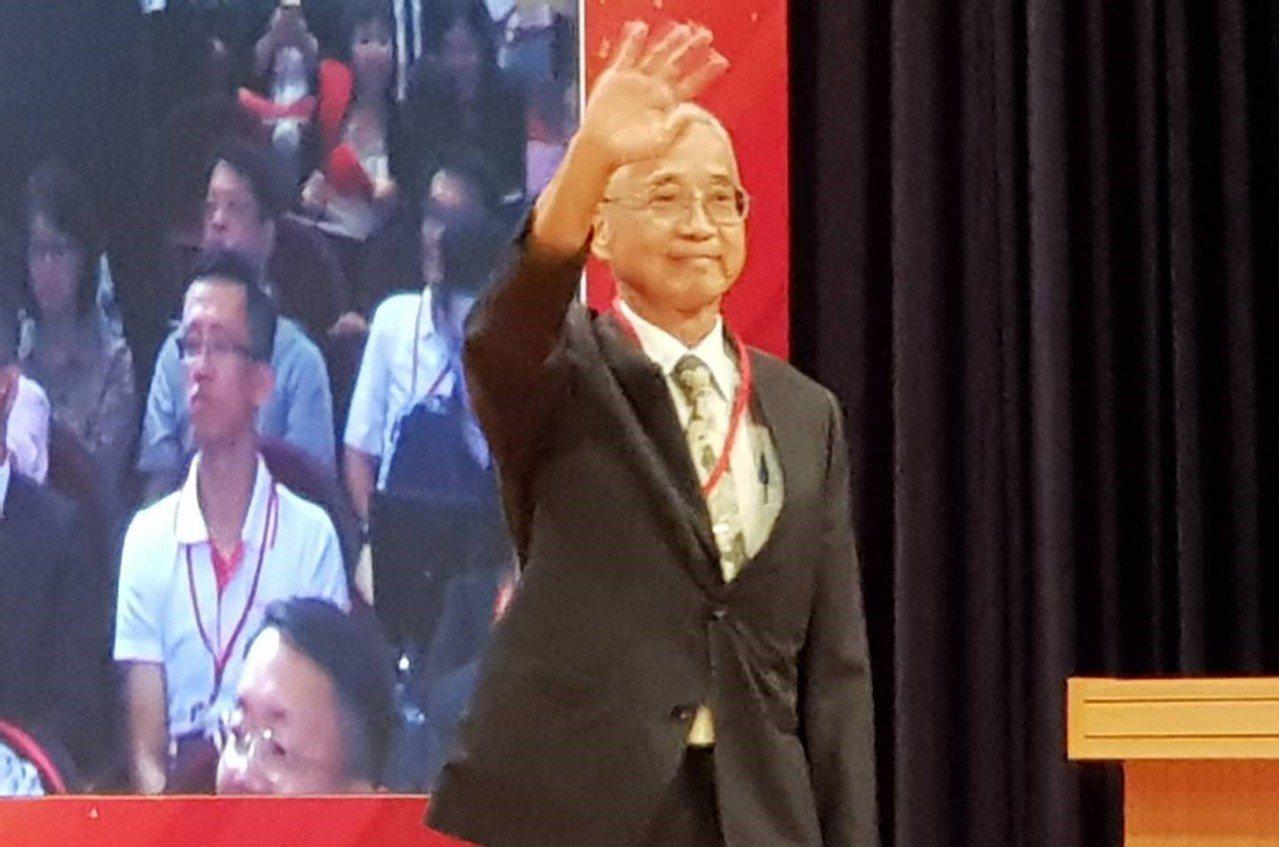 國泰人壽董事長黃調貴。記者戴瑞瑤/攝影。