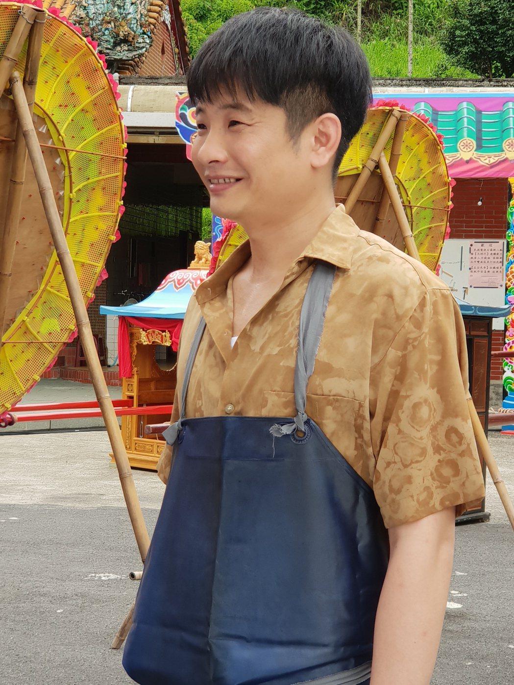 蔡佳麟在「大時代」中飾演「阿旺」。圖/民視提供