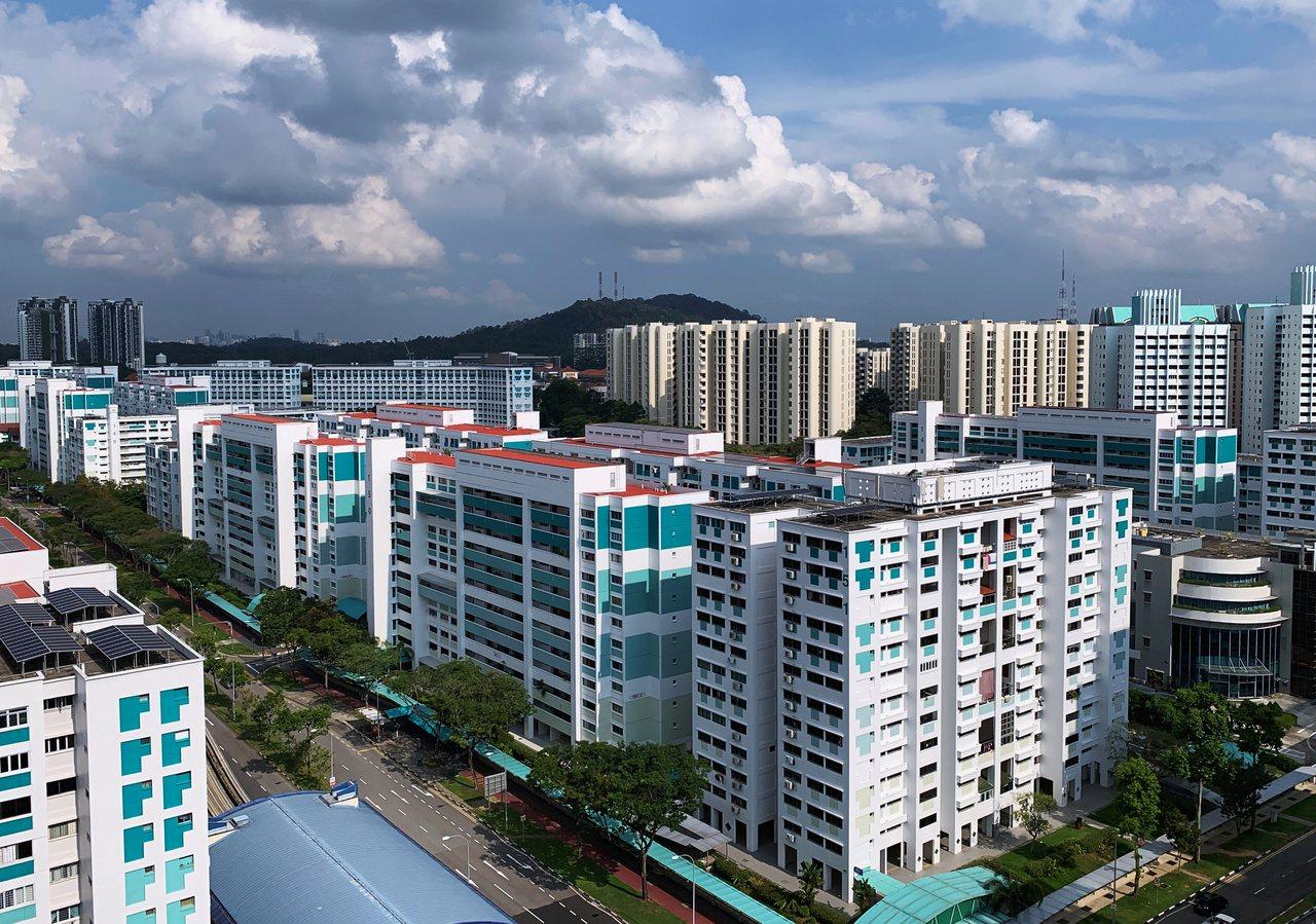 新加坡房市昂貴,使得想移民的港人退卻。(圖/路透)