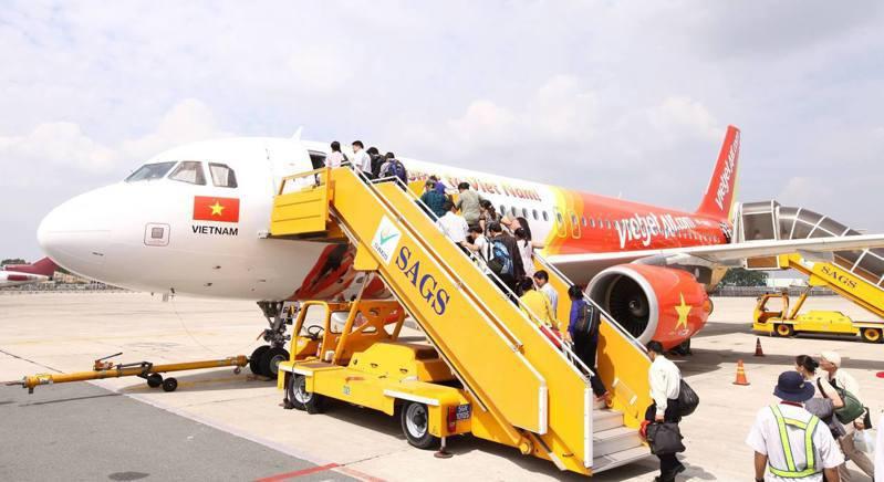 越捷航空將在今年底推出台北到峴港航線,為慶祝新航線開航,祭出0元機票。圖/摘自越捷航空粉絲專頁