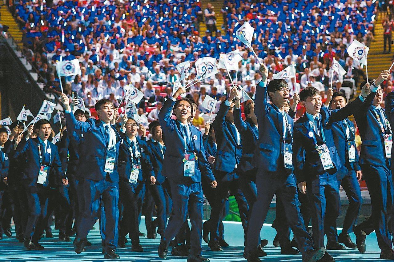 第45屆國際技能競賽,台灣選手青年組獲5金、5銀、5銅和23優勝,超越上一屆。 ...