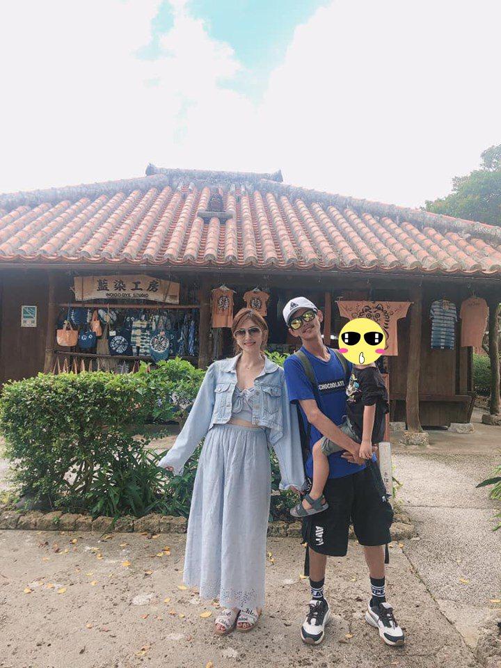 Grace公開與阿翔合照。圖/摘自臉書