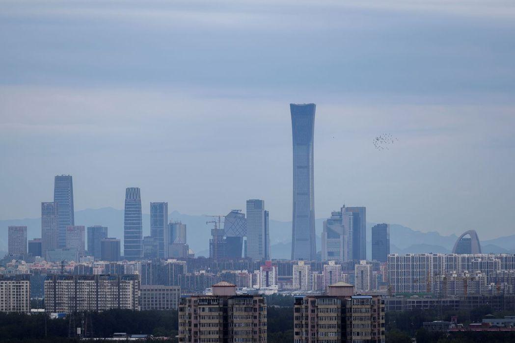 中國大陸首都北京。  (法新社)