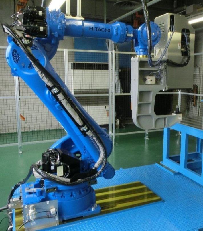 機械手臂型點銲式FSW機種 定鋐/提供