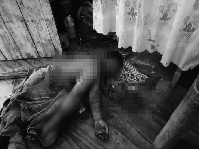 一名48歲男子夢到自己在砍椰子樹,而將自己侄子的頭部和手臂當場砍下。圖擷自馬尼拉...