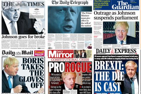 脫歐惡戰:首相強生突襲策動「國會休會」,英國倒閣動員中