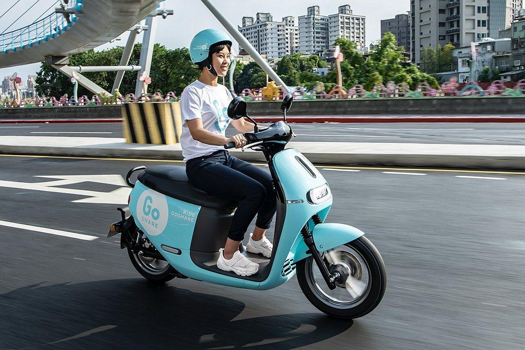 Gogoro於8月29日正式在桃園推出GoShare移動共享服務,首批投放車輛總...