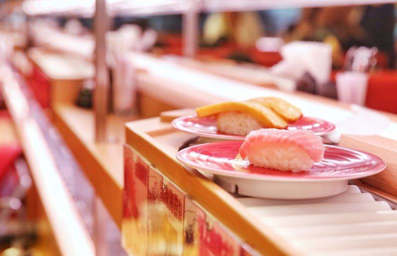 日式料理深受台灣人喜愛,壽司更是常見的美食之一。 聯合報系資料照/記者鄭清元攝影