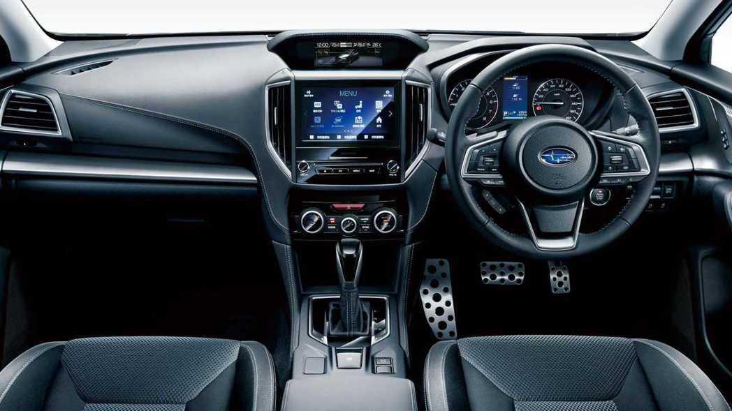 小改後內裝部分依舊沒有做更動。 摘自Subaru