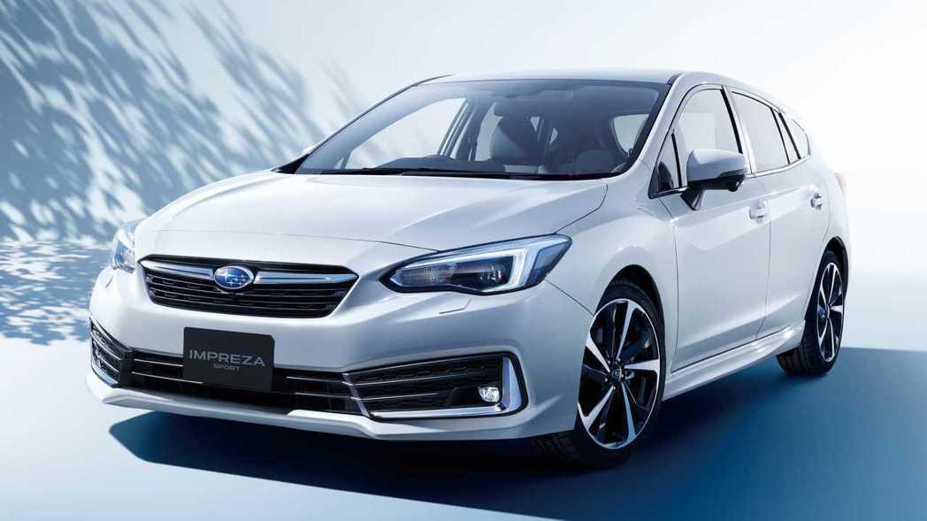 日規2020 Impreza Sport。 摘自Subaru