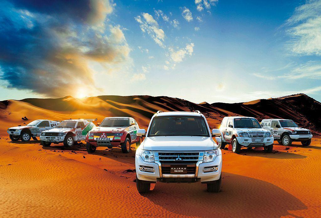 三菱汽車於1982年將Pajero導入銷售並更名為Shoguns,至今也累積銷售...