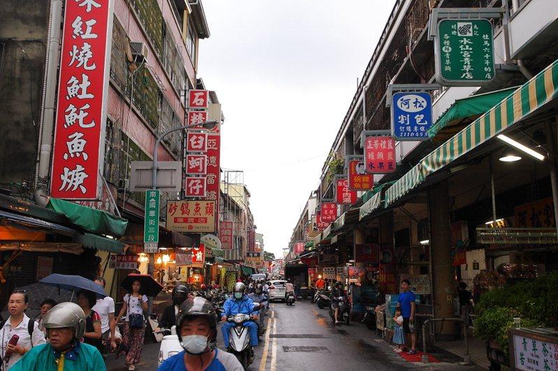 台南國華街。 圖片來源/聯合報系