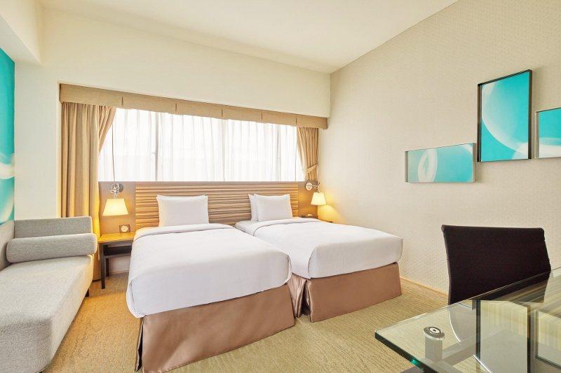 台北凱撒大飯店綺幻客房。 業者/提供