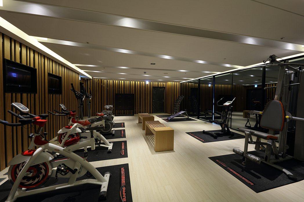 健身房/ PRO級豪華版健身設施,層峰的私家健身房真的有一套。圖片提供/福懋建設