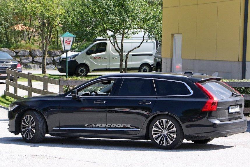 Volvo V90小改款作業進行中 重點在你看不見的地方!