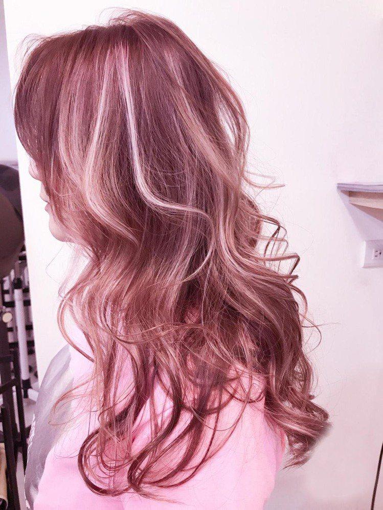 髮型創作/CITY SALON名城髮藝 / victor。圖/StyleMap美...