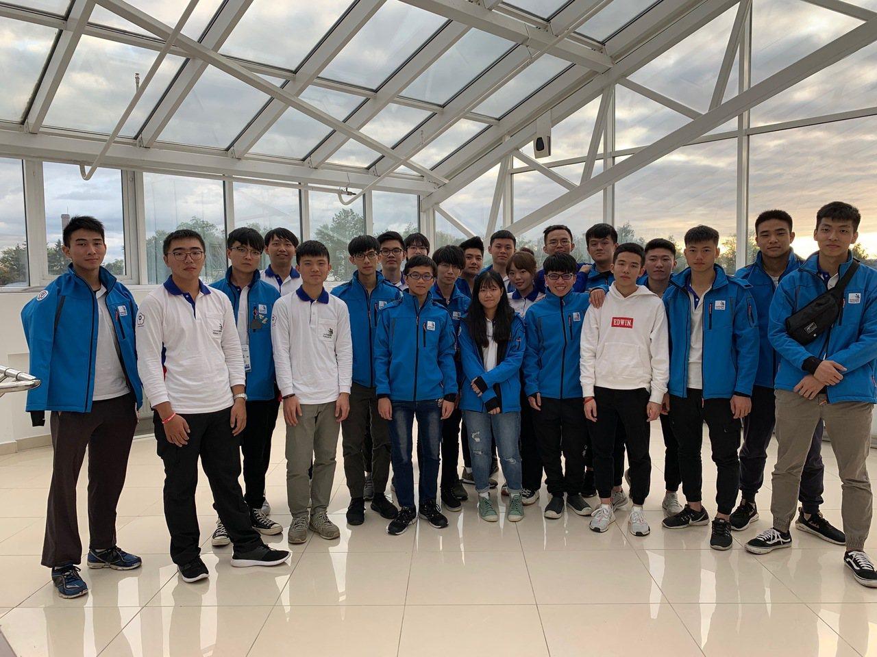 第45屆國際技能競賽在俄羅斯喀山舉行,台灣代表團共獲得5金5銀5銅23優勝的佳績...