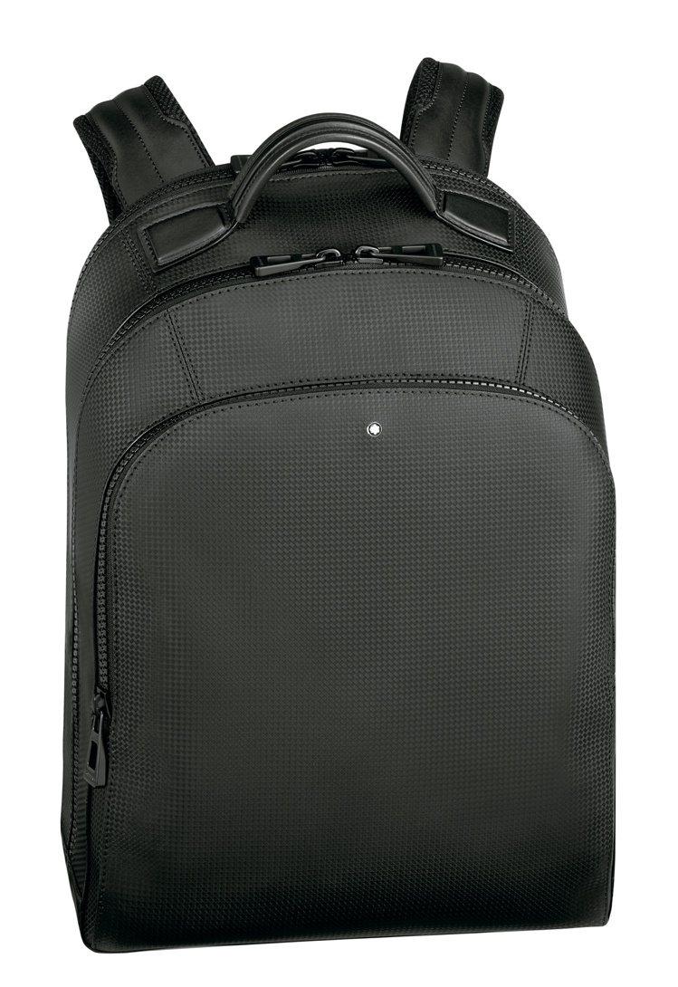 萬寶龍風尚系列2.0小型後背包,30,700元。圖/萬寶龍提供