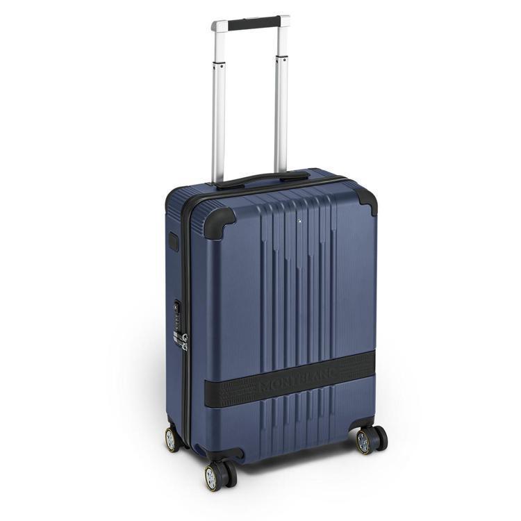 萬寶龍#MY4810系列倍耐力聯名款小型行李箱,25,200元。圖/萬寶龍提供