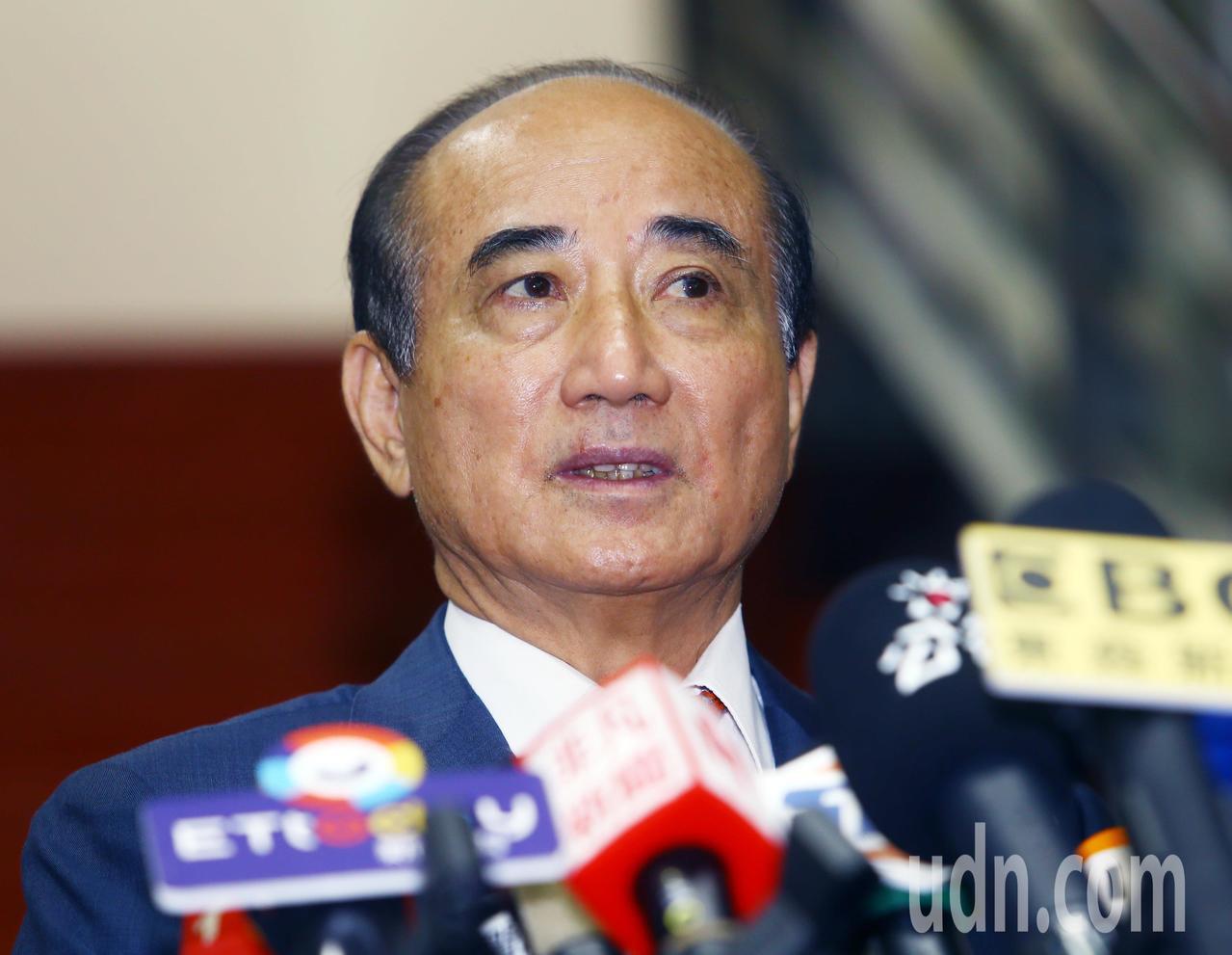 立法院前院長王金平。聯合報系記者杜建重/攝影