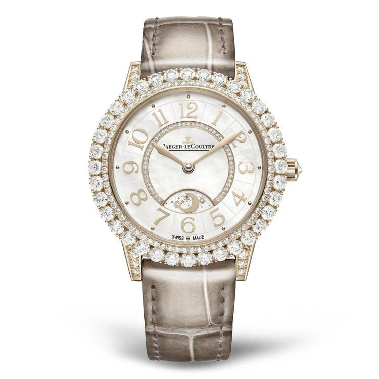 積家閃耀約會系列日夜顯示腕表,147萬元。圖/積家提供
