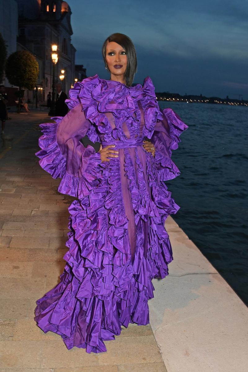 Franca Sozzani Award今年得主是傳奇超模伊曼阿布杜爾馬吉德,她...
