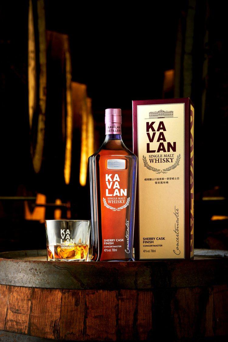 噶瑪蘭山川首席單一麥芽威士忌─雪莉風味桶,酒精濃度40%,700ml建議售價1,...