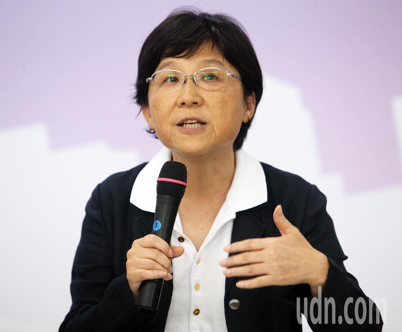韓國瑜國政顧問團社福組召集人馮燕。記者劉學聖/攝影