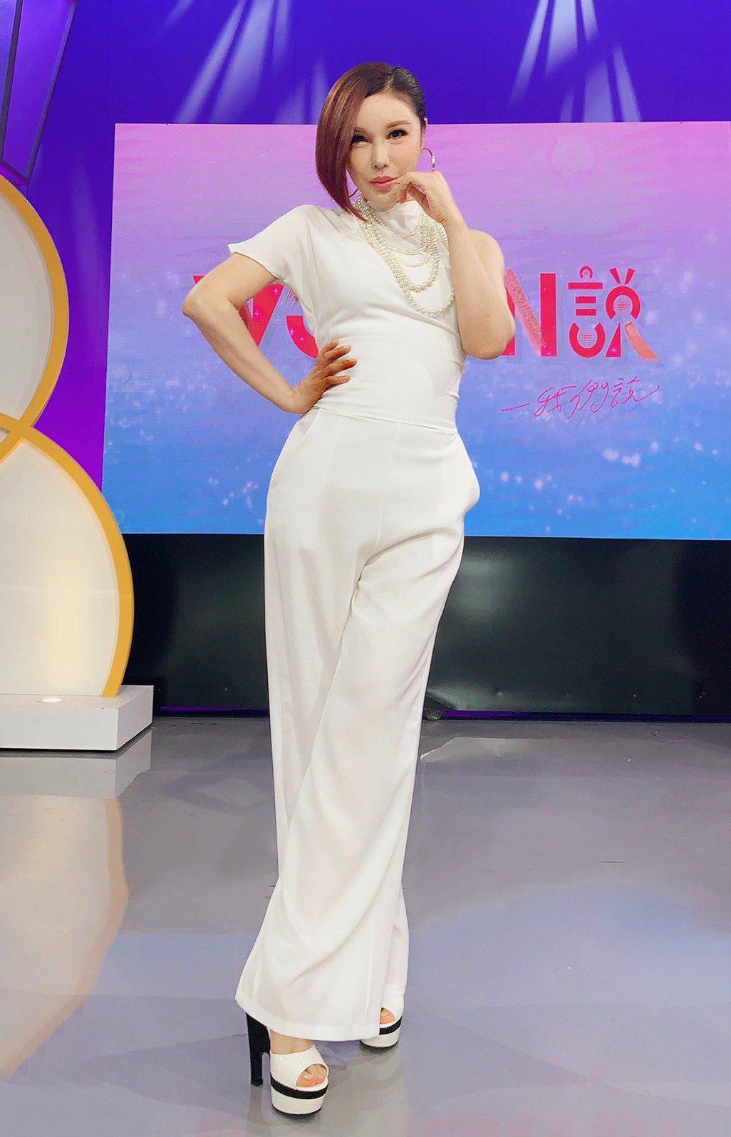 利菁主持東風新節目「WOMEN說」。圖/東風提供