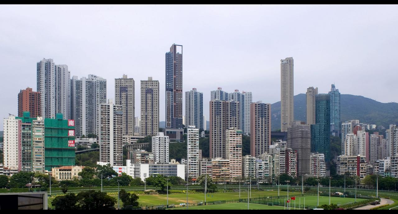 香港近兩個多月來示威活動不斷,房地產市場似已失去往日光環。圖/新華社