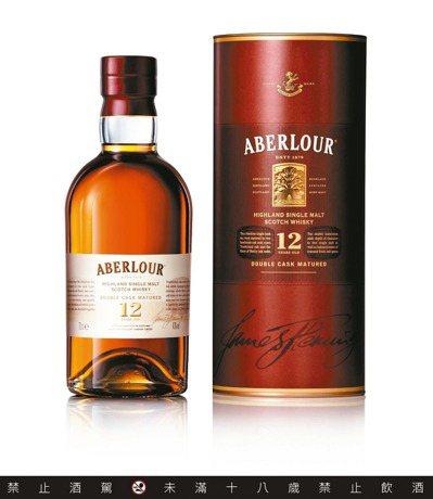 亞伯樂12年單一麥芽蘇格蘭威士忌,建議售價1,250元。圖/保樂力加提供 ...
