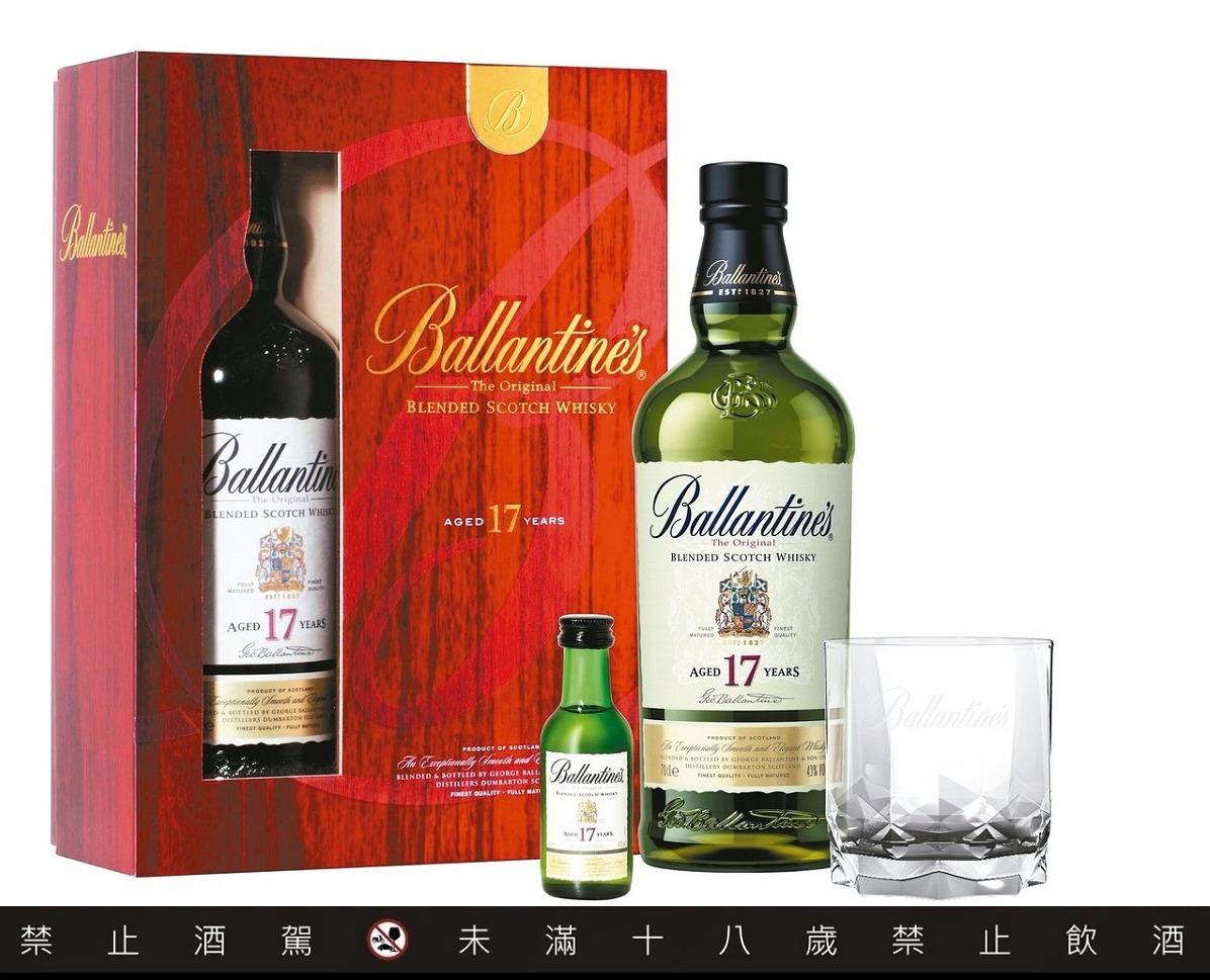 百齡罈17年蘇格蘭調和式威士忌限量禮盒,建議售價1,480元。圖/保樂力加提供...