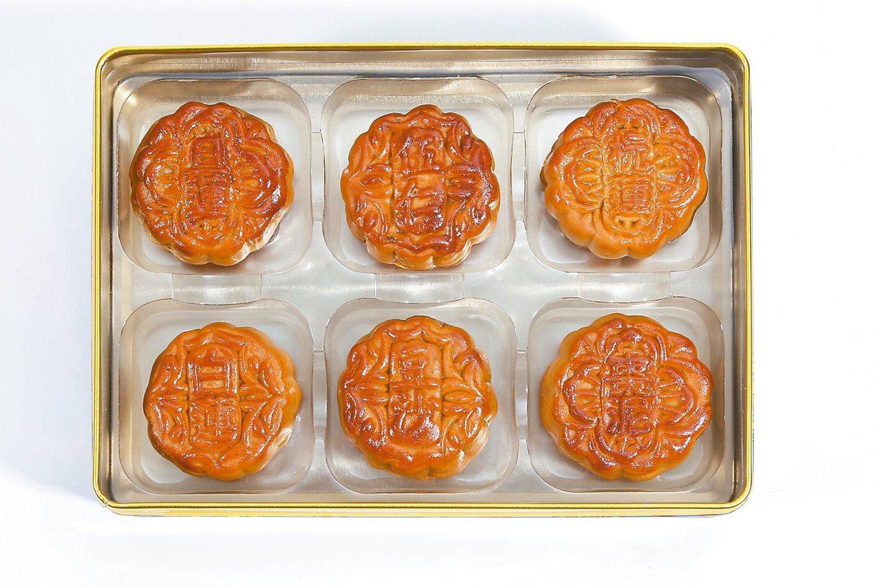 經典六曉。 圖/馬來亞月餅提供