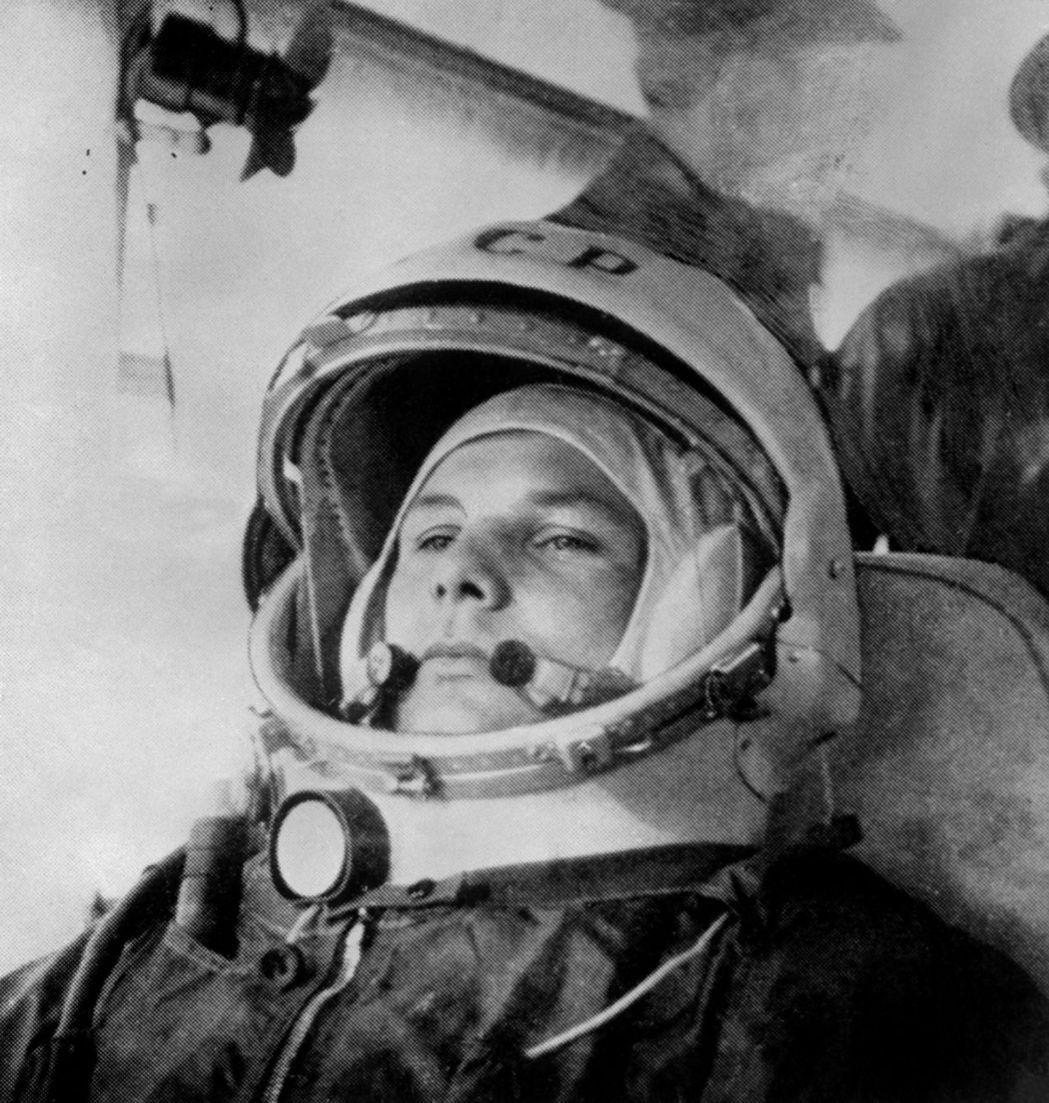 蘇聯太空人加加林,是首個進入太空的人類。 (法新社)