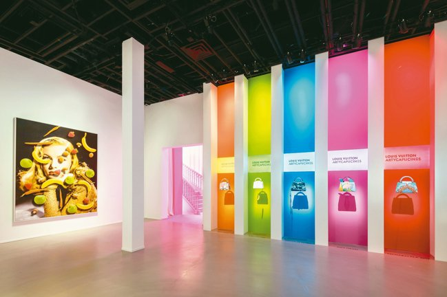 LOUIS VUITTON X聯名展展覽最大亮點是Artycapucines系列...