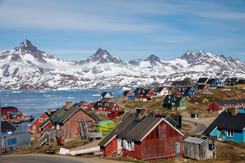 美國總統川普多次公開表達向丹麥購買格陵蘭的意圖。圖為格陵蘭。 圖/路透社