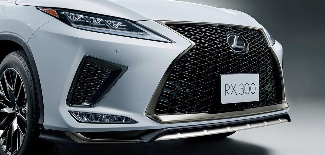 小改款Lexus RX在外觀上進行了小針美容。 摘自Lexus