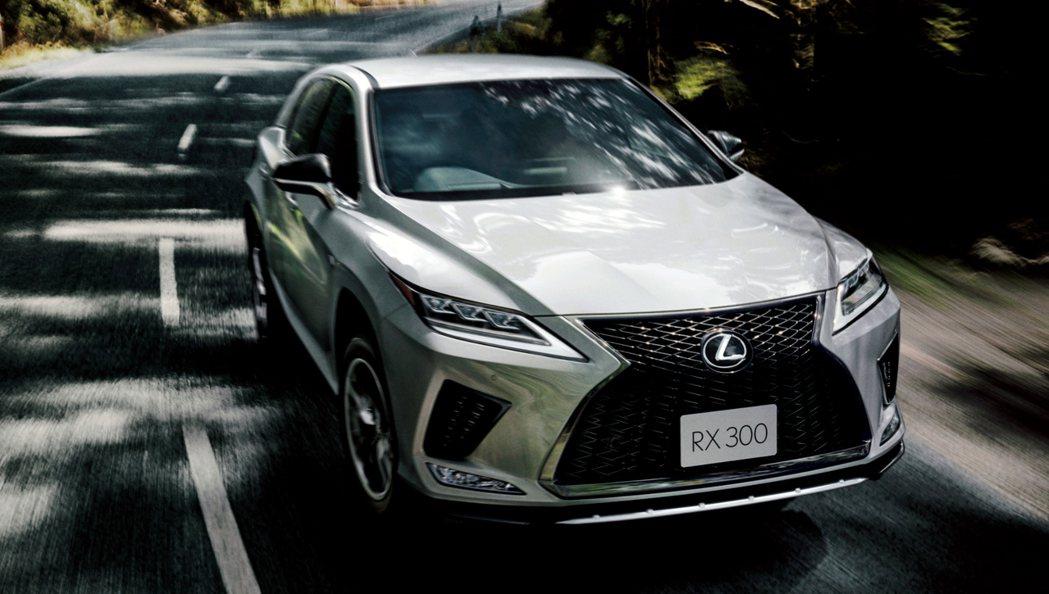 小改款Lexus RX將新一代LSS+列為全車系標配。 摘自Lexus