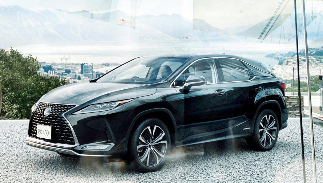小改款Lexus RX將於九月中旬後正式在台灣上市發表。 摘自Lexus