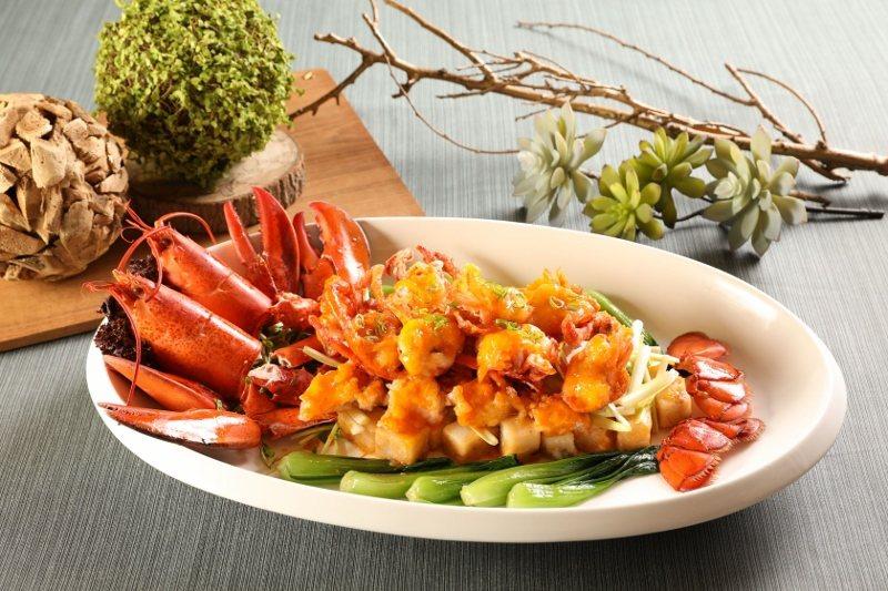 干醬波士頓龍蝦(台北天成大飯店限定菜色)。 業者/提供