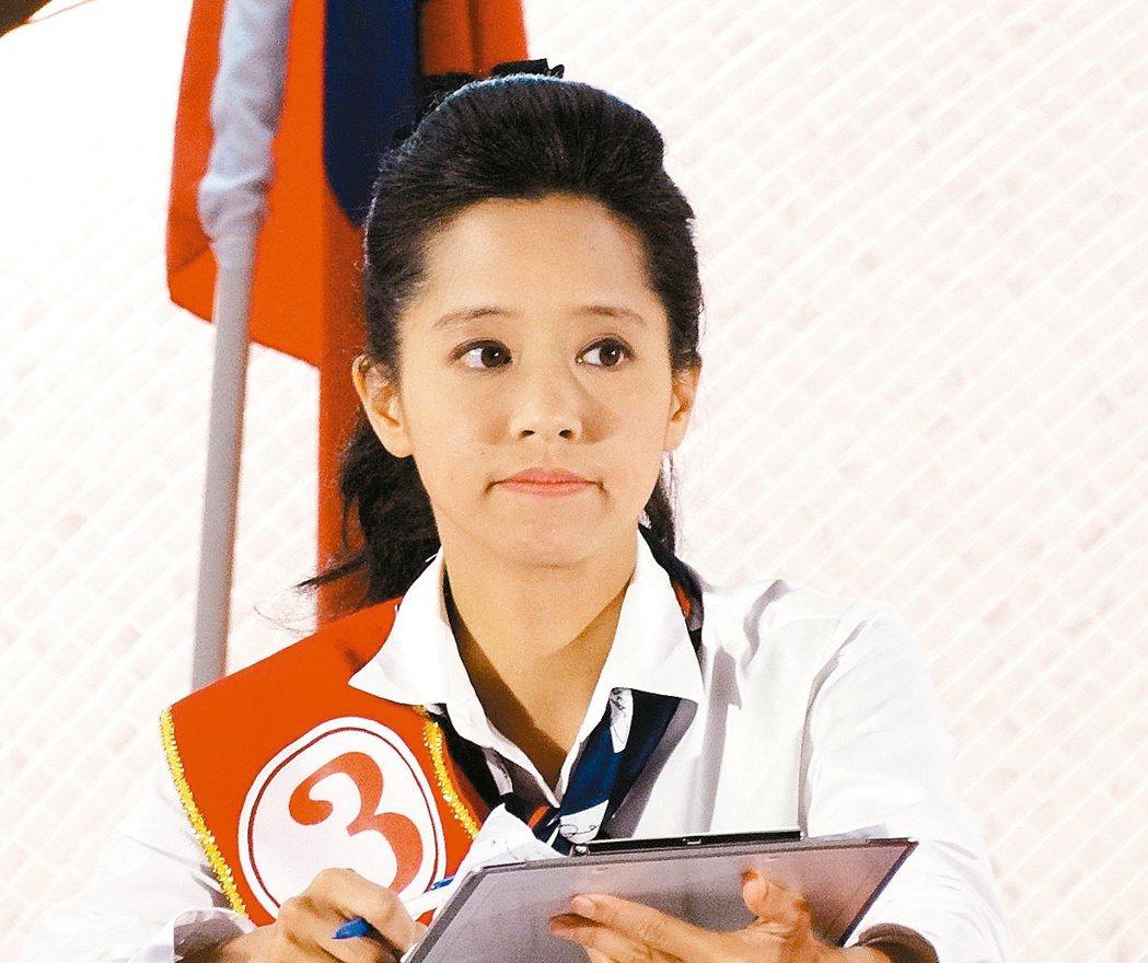2014年陳以真扛藍旗對戰綠營涂醒哲。 圖/聯合報系資料照片